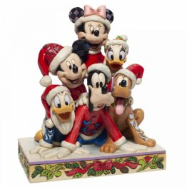 Stacked Mickey and Friends Christmas
