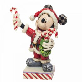 Mickey Mouse with Candy Canes