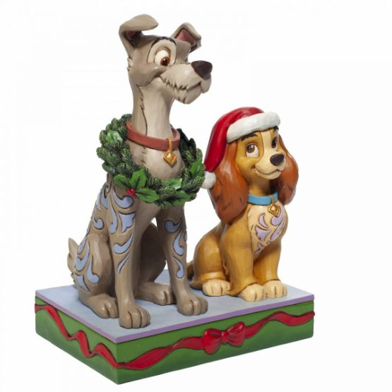 Lady and the Tramp Christmas Figurine