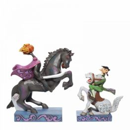 Headless Horseman and Ichabod Crane Figurine