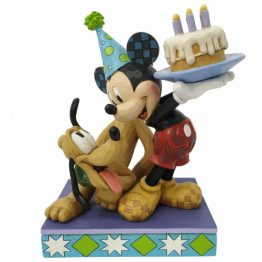 Pluto and Mickey Mouse Figurine