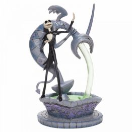 Soulful Soliloquy (Jack Skellington on Fountain Figurine)