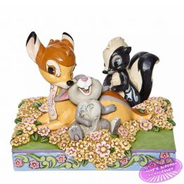 Bambi and Friends in Flowers