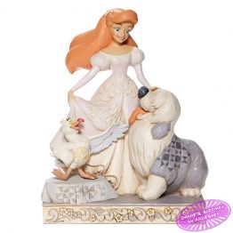 White Woodland Ariel with Scuttle and Max