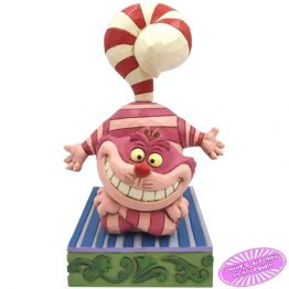 Cheshire Cat with a Candy Cane Tail
