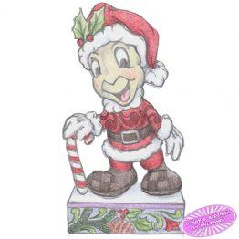 Jiminy Cricket Dressed as Santa Claus